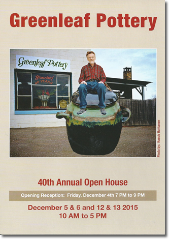 2015 Open House Invitation - Front